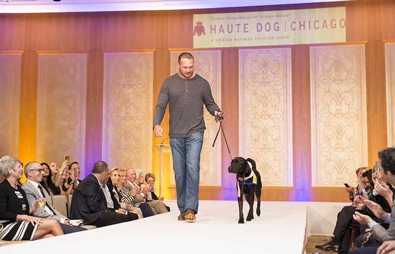 You never know who you may see on the runway!