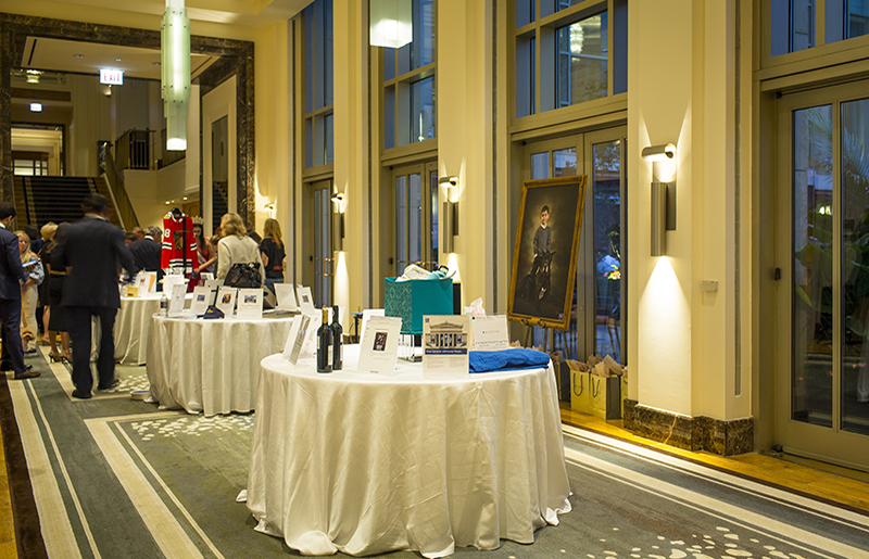 Check our a glamorous and exclusive silent auction