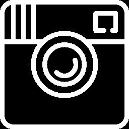 white Instagram logo